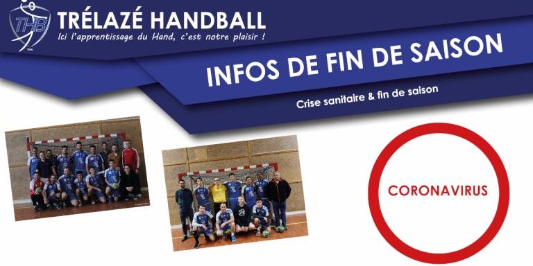 Read more about the article Infos de fin de saison