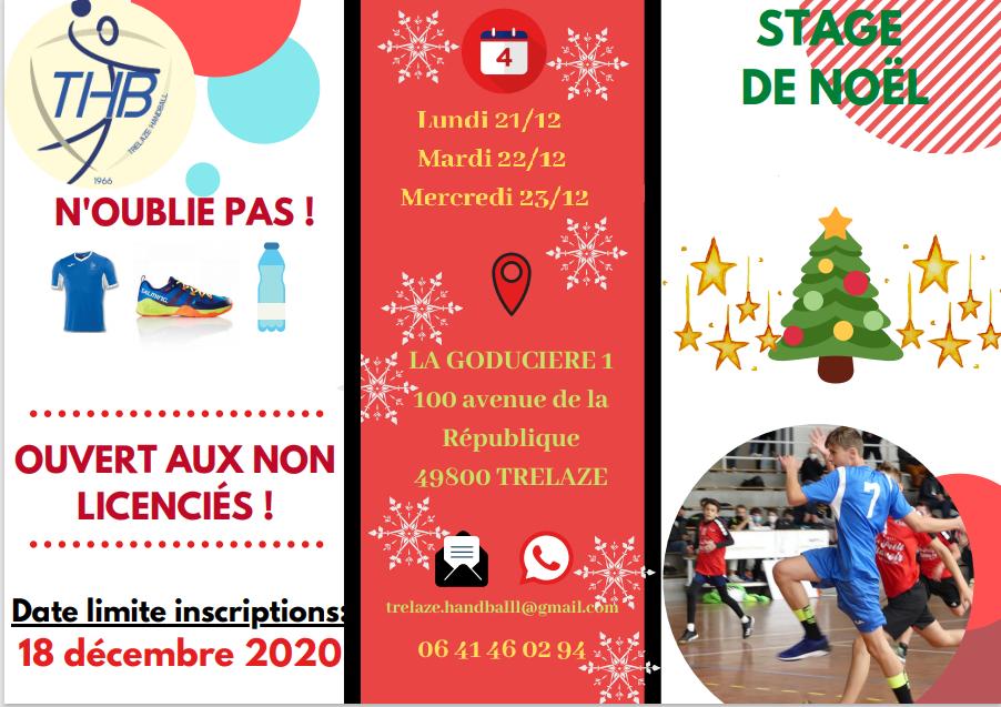 Stages de Noël (des -10 aux -16 ans)