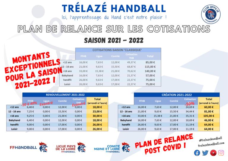 Ouverture des inscriptions saison 2021-2022