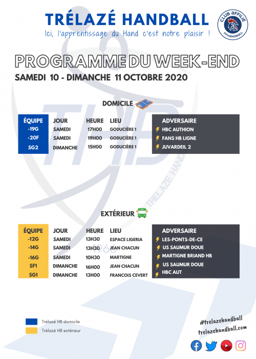 Copie de Programme du Week-end