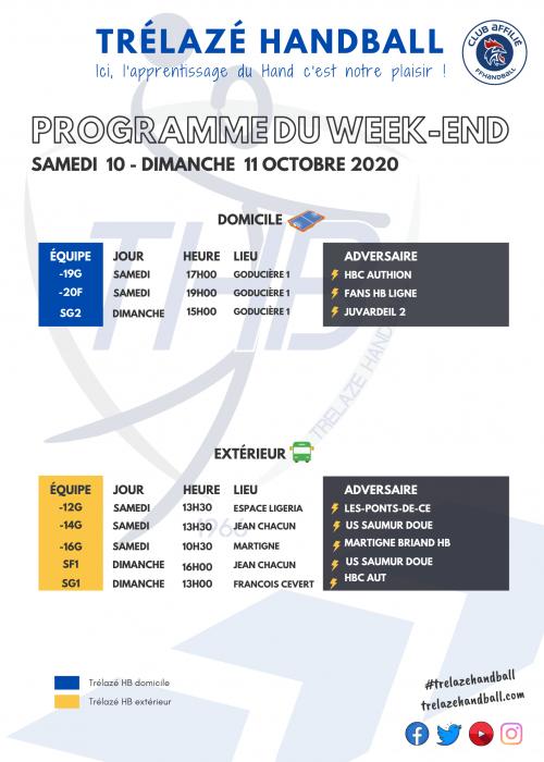 Copie de Programme du Week-end